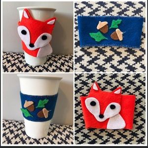 Accessories - Handmade felt tea/coffee cozy